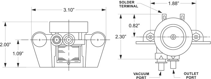 illustration-of-vacuum-air-pump-v3000-series