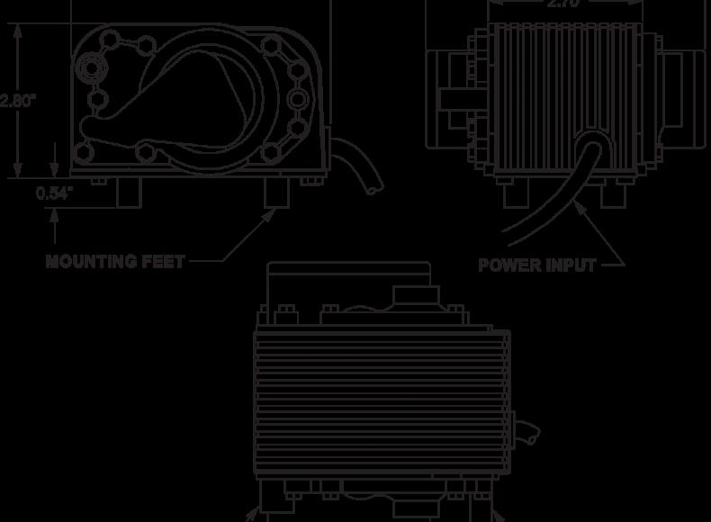Pressure Air Pump 7080 drawings-