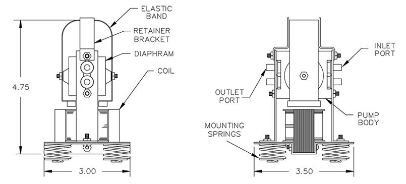 diagram-front-side-views-vacuum-air-pump-6000-series